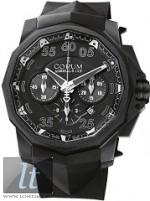 Corum Admirals Cup Black Hull 48 753.934.95-0371-AN92