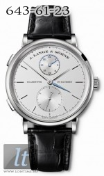 A.Lange and Sohne Saxonia Dual Time 385.026
