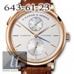 A.Lange and Sohne Saxonia Dual Time new model-2011Saxonia Dual TimeRG
