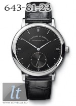 A.Lange and Sohne Grand Saxonia Automatik (WG / Black / Leather) 307.029