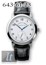 A.Lange and Sohne 1815 (Platinum / Silver / Leather) 206.025