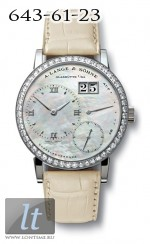 A.Lange and Sohne Little Lange 1 Soiree (WG / Diamonds / MOP) 813.029