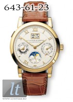 A.Lange and Sohne Langematik Perpetual (18kt YG / SIlver / Leather) 310.021
