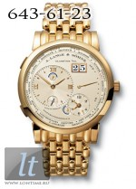 A.Lange and Sohne Lange 1 Time Zone (YG / Silver / YG) 116.321