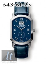 A.Lange and Sohne Grand Arkade (18kt WG / Silver / Leather) 106.027