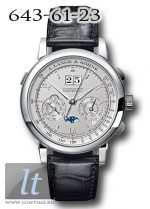 A.Lange and Sohne Datograph Perpetual (Platinum / Strap) 410.025