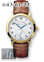 A.Lange and Sohne 1815 (18kt YG / Silver / Leather) 206.021