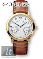 A.Lange and Sohne 1815 Up and Down (18kt YG / White) 221.021