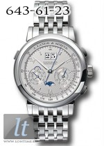 A.Lange and Sohne Datograph Perpetual (Platinum) 410.425
