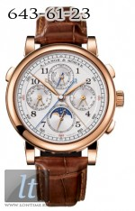 A.Lange and Sohne Rattrapante Perpetual Calendar 421.032