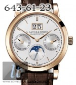 A.Lange and Sohne Saxonia Annual Calendar Rose Gold 330.032
