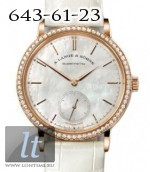 A.Lange and Sohne Saxonia Automatic Rose Gold Diamond 840.032