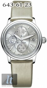 Blancpain Women's Collection GMT 3760-1136-52B