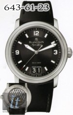 Blancpain Leman Ultra Slim Automatic Big Date - 40mm 2850b-1130a-64b