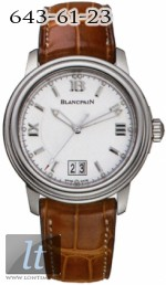 Blancpain Leman Ultra Slim Automatic Big Date 2150-1127-53b