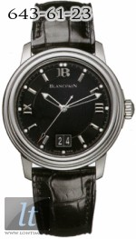 Blancpain Leman Ultra Slim Automatic Big Date 2150-1130-53