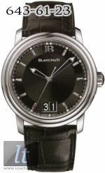 Blancpain Leman Ultra Slim Automatic Big Date - 40mm 2850-1130-53b