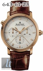Blancpain Villeret Single Pusher Split Seconds Chronograph 6086-3642-55b