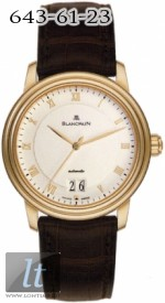 Blancpain Villeret Ultra Slim Automatic & Large Date - 38mm 6850-3642-55b