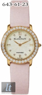 Blancpain Villeret Ultra Slim Ladies Automatic 0096-312RO-52