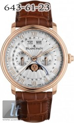 Blancpain Chronograph Monopusher Complete Calendar Moon Phases 6685-3642-55B
