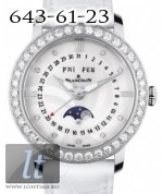 Blancpain Ladies Moonphase Complete Calendar 34mm 3663A-4654-55B