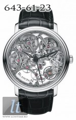 Blancpain Villeret Skeleton 8 Days 6633-1500-55B