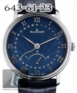 Blancpain Retrograde Seconds 6653Q-1529-55B