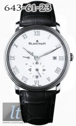 Blancpain Ultra-Slim Hand-Winding 40mm Small Seconds Power Reserve 6606-1127-55B