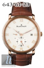 Blancpain Ultra-Slim Hand-Winding 40mm Small Seconds Power Reserve 6606-3642-55B