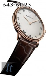 Blancpain Villeret Grande Decoration Only Watch 2011 Limited Edition 1 Grande Decoration 2011