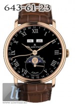 Blancpain Moon Phase Complete Calendar '8 Jours' 6639-3637-55B