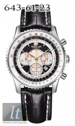 Breitling Montbrillant A4170C SS-Black&White-BlLeath