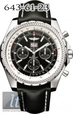Breitling Bentley 6.75 Black Dial A4436212/B728