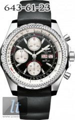 Breitling Bentley GT Black Dial Rubber Strap A1336212 Rubber Strap