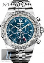 Breitling Bentley GMT Blue Dial Steel A4736212/C768