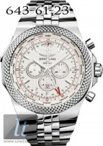 Breitling Bentley GMT White Dial Steel A4736212/G657