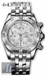 Breitling Windrider - Chrono Cockpit A13358.SILVER.ROMAN.SSPILOT