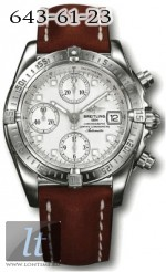 Breitling Windrider - Chrono Cockpit A13358.WHITE.INDEX.CALF.BD