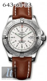 Breitling Aeromarine - Colt Automatic II A17380.WHITE.CALF.BD