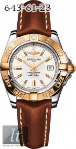 Breitling Galactic 32 Steel and Rose Gold