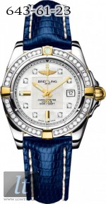 Breitling Galactic 32 Two-Tone