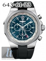 Breitling Bentley GMT Black Dial Rubber a4736212/c768-1rd