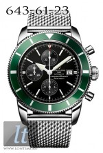 Breitling Superocean  Heritage Chronographe Green Edition a13320-green-ss