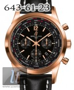 Breitling Transocean Chronograph Unitime Red Gold Pilot RB0510U5/BC39/441X/R20BA.1