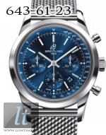 Breitling Transocean Chronograph 2013 ab015212 Midnight blue dial