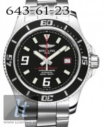 Breitling Superocean 44 Steel Abyss Red Bracelet Stainless Steel a1739102/ba76-ss