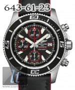 Breitling Superocean Chronograph II Steel Abyss Red dial Superocean Strap a13341a8/ba81-1lts