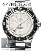 Breitling Superocean GMT Steel Silver Dial a3238011/g740-ss