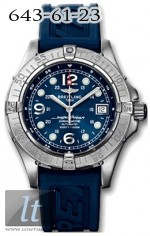 Breitling Breitling Aeromarine - Superocean Steelfish A17390.BLUE.RUBBER